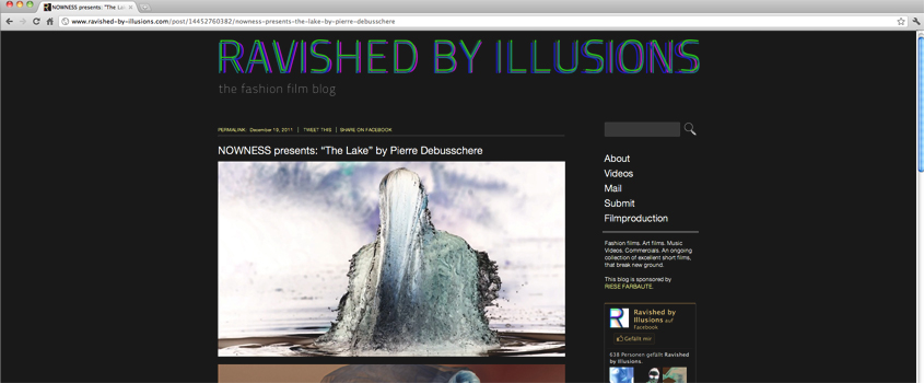 ravished by illusions